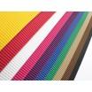 E-Wellpappe, 50x70cm, 10 Bogen farbig sortiert